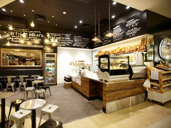 Bakery Coffee Shop Interior Design